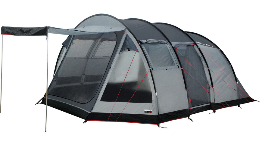 High Peak Durban 6 tent grijs